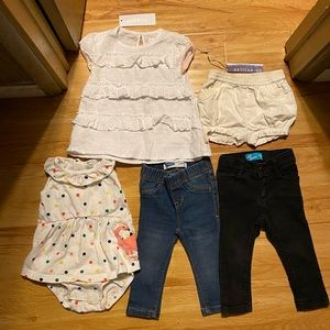 Other - Baby girls Lot Bundle Jeans romper